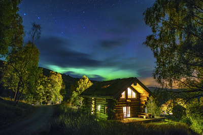 Eagle Brae Luxury Log Cabins in Scotland